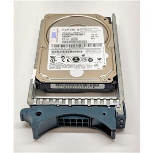 "IBM 146GB 10K 6Gbps 2.5"" SAS Hot Plug 43X0864 42X0249 MBD2147RC 43X0865 w/ Tray"