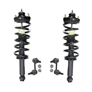100% New RR Complete Spring Struts Fits For All Wheel Drive 3.6 Dodge Journey 4p