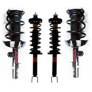 4 100% New Complete Spring Struts Fits For 13-15 2.4L 4 Door Honda Accord