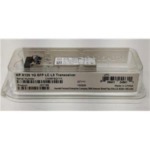 HP X120 1GB SFP+ Transceiver LC LX 1310nm 10km SMF JD119B
