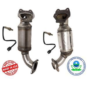 Fits 11-16 Chrysler Town & Country 3.6L Upper Manifold Convertes & O2 Sensors