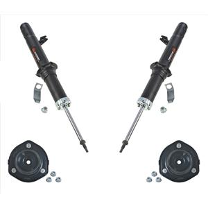 Fits For 09-13 Mazda 6 Automatic Trans New Front Struts W Upper Strut Mounts 4pc