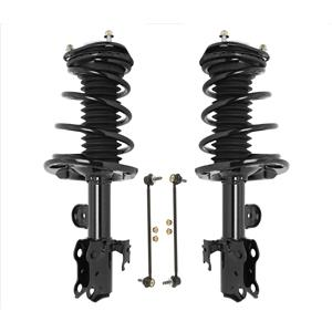 New Front Complete Spring Struts Fits For 11-16 Scion TC Improved Springs 4pc