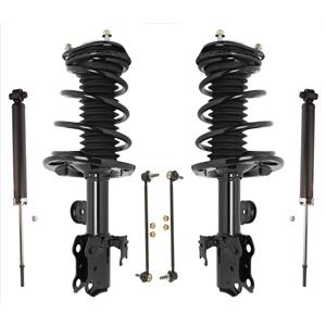 New Front Complete Spring Struts Fits For 11-16 Scion TC Improved Springs 6pc