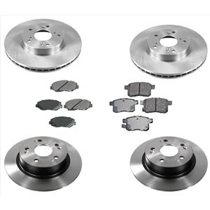 6pc Brake Pads & Rotors Fits For 13-17  Accord 2.4L LX-S LX  MODELS ONLY 282MM