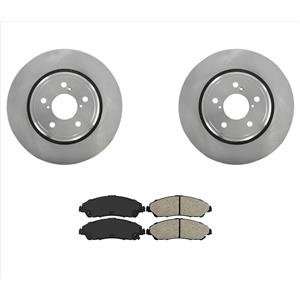 New Front Brake Rotors Brake Pads Fits for 17-19 Acura MDX Will Not Fit Hybrid