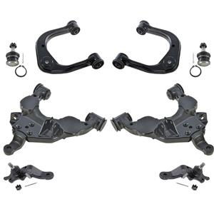 Front Lower & Upper Control Arms & Ball Joints 8 Pcs fits Toyota Tundra 00-03