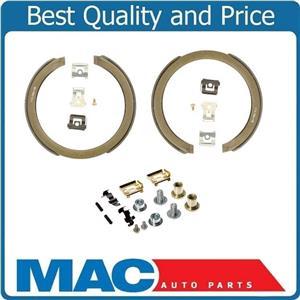 100% New Parking Brake Shoe Set With Brake Srings for Chevrolet Blazer 2pc 97-05