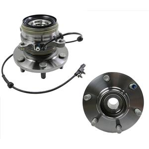 2- FRONT Wheel Hub Bearing Assembly 4 Wheel Drive for Nissan Titan XD 16-19