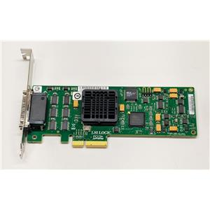 LSI PCI-E Ultra320 SCSI Dual-Channel High Profile Host Bus Adapter LSI22320SE