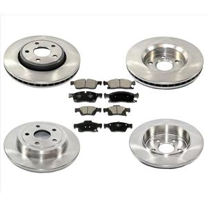 Front Vented Rear Solid Rotors fits for Jeep Grand Cherokee Standard 330MM 11-18
