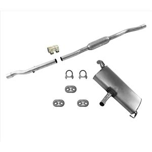 Exhaust Pipe Muffler System Fits For 4 Wheel Drive 2.4L 12-17 Jeep Compass USA