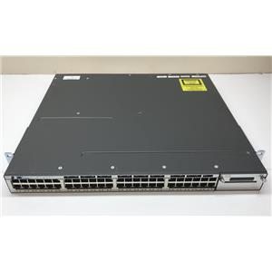 Cisco Catalyst 48 Port Switch WS-3750X-48T-S