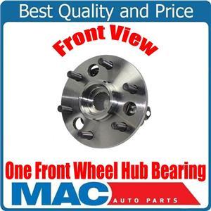 ONE Front Wheel Hub Bearing Assembly 6 Stud 4x4 for GM Yukon Tahoe 1995-1999