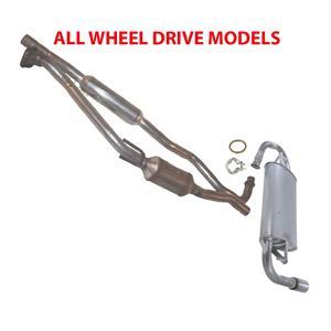 Exhaust System For Toyota Matrix & Pontiac Vibe 2003-2006 ALL WHEEL DRIVE
