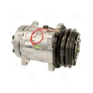 AC COMPRESSOR FITS CHEVY P20 P30 GMC P2500 P3500 P4500 (1YW) 58552 NEW
