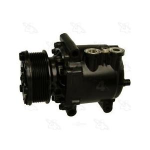 AC Compressor Fits Ford E-350 E-450 E-550 Diesel (1 year Warranty) R77579
