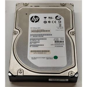 "HP 614827-001 3TB 7.2K Seagate ST33000650NS 3.5"" SATA Drive 628069-001"