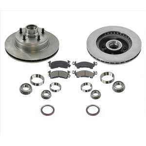 Front Brake Rotors & Pads Kit Fits for 1994-2002 Astro Van 2 Wheel Drive
