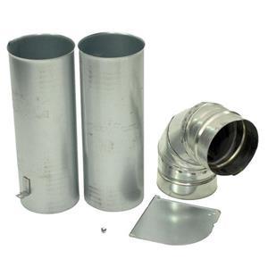 Dryer Side Exhaust Vent Kit 3911EZ9131X works for LG Various Models