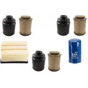 Fuel Water Separator Air Oil Filters for Ram 2500 6.7L Turbo Diesel 13-18
