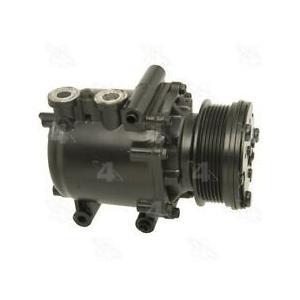 AC Compressor fits Ford E150/E250 Club Wagon Econoline (1YW) R77540
