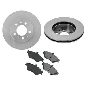 Fits 1995-1997 Ford Crown Victoria Lincoln Town Car Front Brake Rotors & Pads