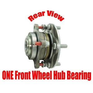 ONE 100% New Front Wheel Hub Bearing for Toyota Tundra Rear Wheel Drive 07-18