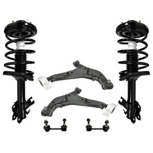 Front Complete Struts Lower Control Arms & Links for Nissan Maxima 01-03 6pc