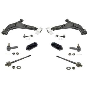 Fits for Nissan 2000-2003 Maxima Control Arms Ball Joints Tie Rod Link