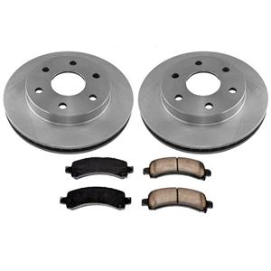 Rear Rotors Ceramic Brake for GMC Van G2500 6 Stud 7300LB GVW 2003-2005
