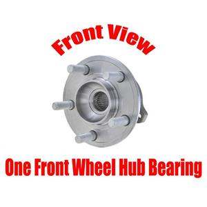 ONE Front Wheel Hub Bearing Assembly for Chrysler 300 05-19 All Wheel Drive