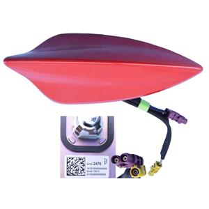2016-19 Chevy Cruze 42692478 Shark Fin Antenna Pull Me Over Red 42692476