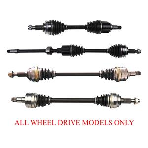 Front & Rear CV SHAFT AXLES FOR LEXUS IS250 All Wheel Drive 2006-2010