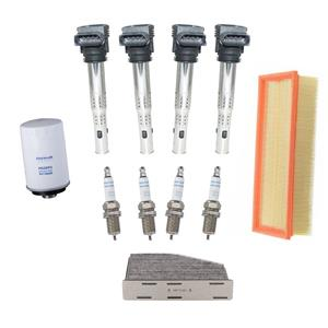 Ignition Coils Platinum Spark Plugs Air Cabin for Volkswagen Tiguan 2.0L 09-14