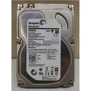 """Seagate Barracuda 3TB SATA III 7.2K 6Gb/s 3.5"""" Hard Drive ST3000DM001 3GPRT"""