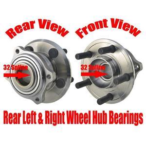 REF# 4779572AA Wheel Hub Bearings for Chrysler 300 10-14 Torque Tested 2pc