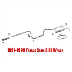 1991-1995 Taurus Sable 3.8L Wagon Muffler Exhaust System