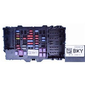 2014-15 Silverado 1500 4.3L V6 FLEX 4WDWIRE JUNCTION BLOCK 23443947