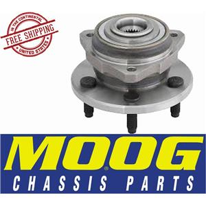 MOOG 513178 Front Wheel Bearing Hub Assembly Jeep Liberty NON-ABS MODELS, 5 Lug