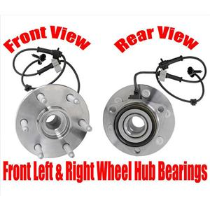 Front Wheel Hub Bearings for Chevrolet Tahoe Four Wheel Drive Only 2000-2006