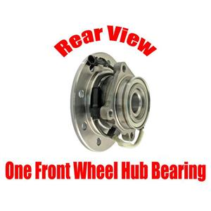 ONE Front Wheel  Hub Bearing Assembly for Chevrolet K1500 8 Stud 4 x 4 1996-1999
