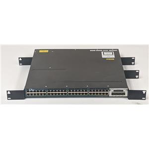 Cisco Catalyst WS-C3560X-48P-E 48-Port RJ-45 1Gbps PoE+ Switch 4x1Gb SFP Uplink