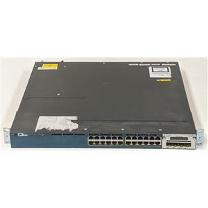 Cisco Catalyst WS-C3560X-24P-L 24-Port 1Gbps Switch w/ C3KX-NM-1G