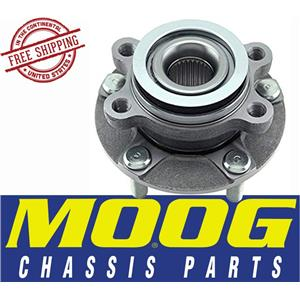 MOOG 513298 HUB AND BEARING ASSEMBLY w/ABS fits Sentra Rogue 2007-14
