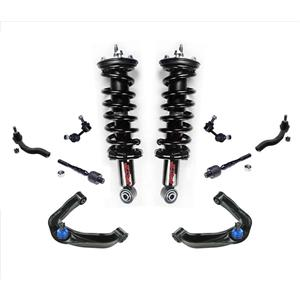 Frt Coil Spring Struts 10p For 05-14 Frontier Extended Cab Rear Wheel Drive 2.5L