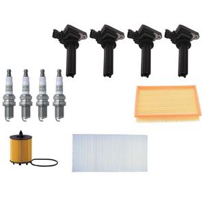Tune Up Kit Ignition Coils Spark Plugs & Filters Fits Saab 9-3 04-11 9-3x 10-11