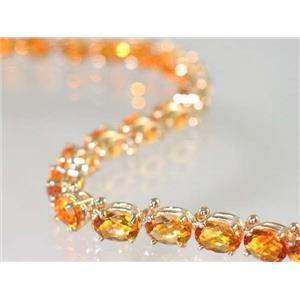 B001, Citrine Gold Bracelet
