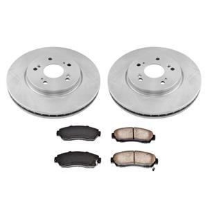 Front Disc Brake Rotors Ceramic Brake Pads for Honda CR-V All Wheel Drive 12-16