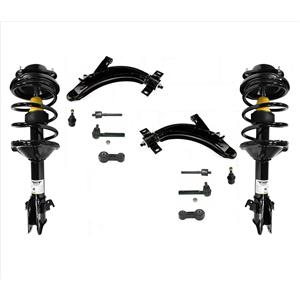 Front Complete Struts Control Arms & BJ 12 Pcs fits For 00-04 Subaru Outback